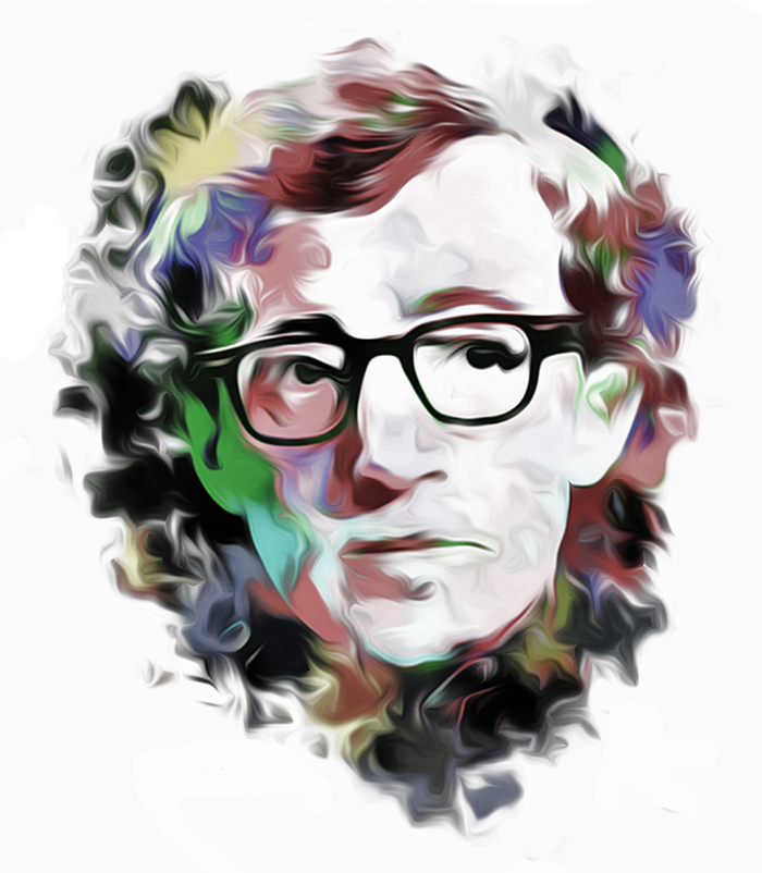 Celebrity Illustrations from Jawaan Burge: 16_woodyAllen_700.jpg
