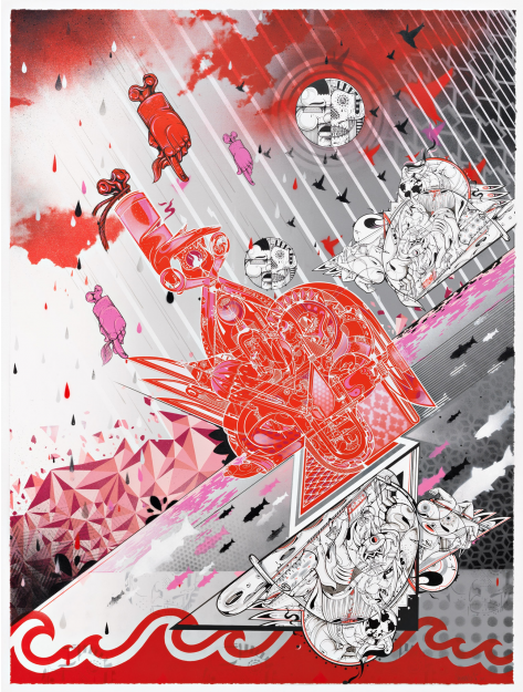 "Preview: How Nosm ""Way Things Are""  @ Pace Prints, NYC: HowNosm9.png"