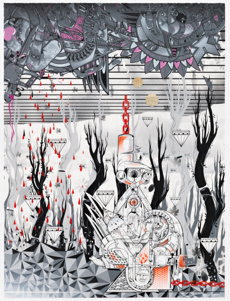 "Preview: How Nosm ""Way Things Are""  @ Pace Prints, NYC: HowNosm92.png"