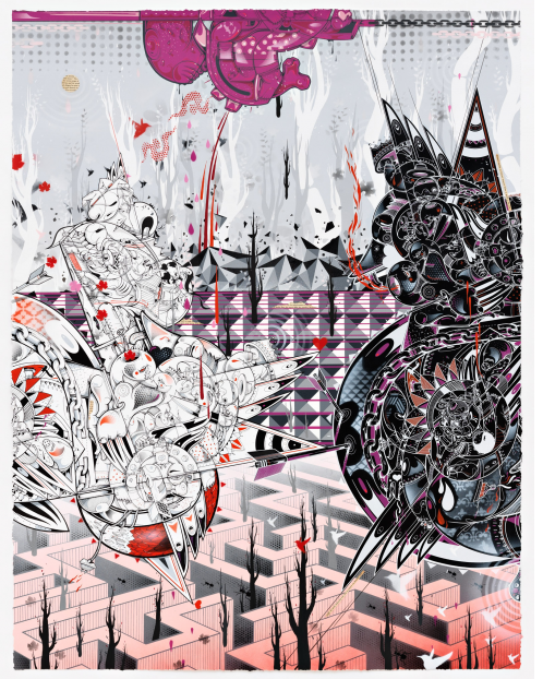 "Preview: How Nosm ""Way Things Are""  @ Pace Prints, NYC: HowNosm93.png"