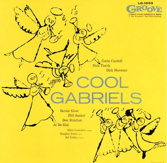 Andy Warhol: Early Record Covers: COol-Gabriels.jpg