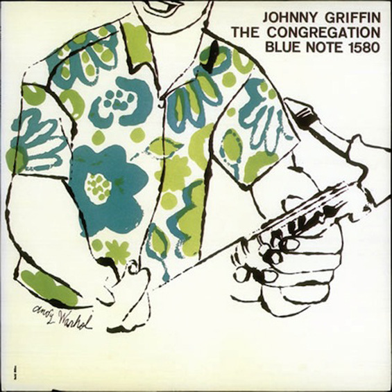 Andy Warhol: Early Record Covers: Johnny-Griffin235677.jpg