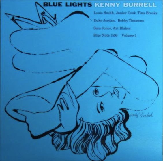 Andy Warhol: Early Record Covers: Kenny-Burrell26i837.jpg