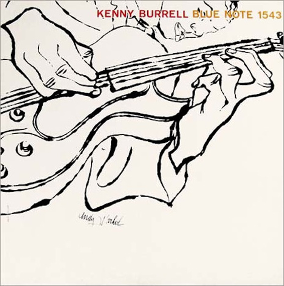 Andy Warhol: Early Record Covers: Kenny-Burrell_1.jpg