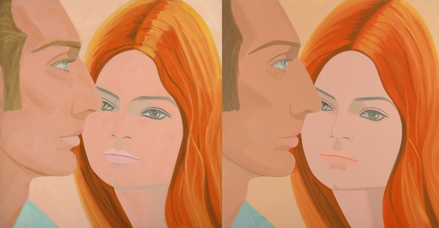 "Alex Katz ""45 YEARS OF PORTRAITS. 1969-2014"" @ Galerie Thaddaeus Ropac, Paris: homothetic-2.jpg"
