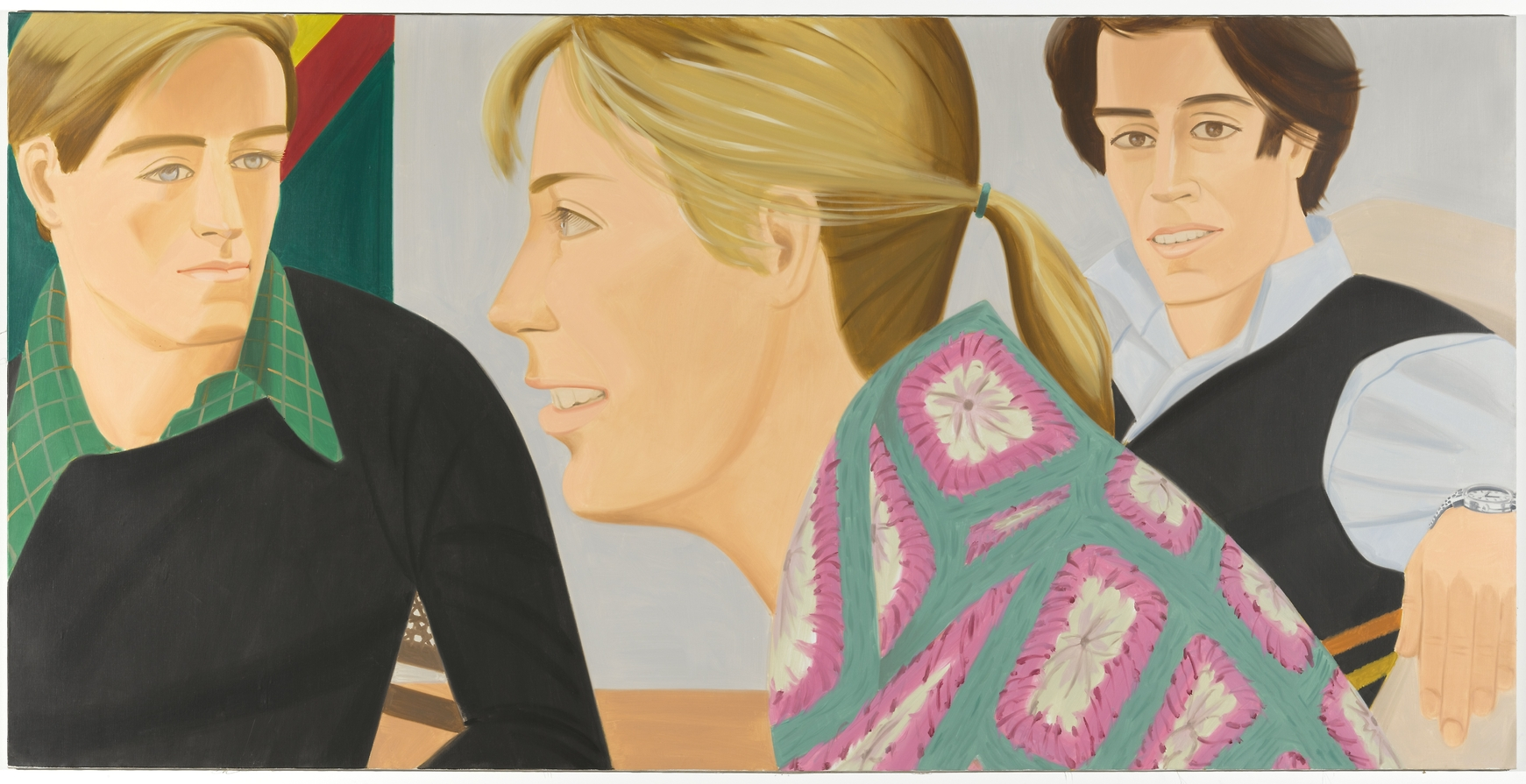 "Alex Katz ""45 YEARS OF PORTRAITS. 1969-2014"" @ Galerie Thaddaeus Ropac, Paris: homothetic-5.jpg"