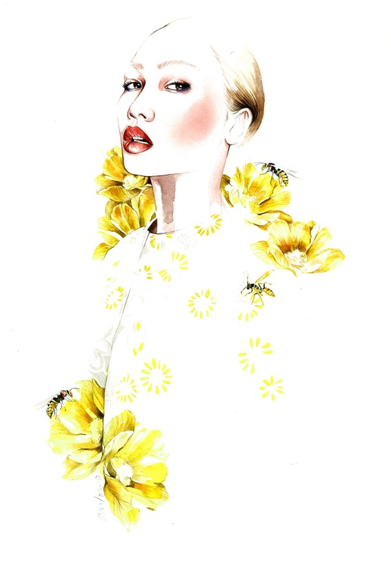 Fashion Illustrations by Antonio Soares: tumblr_n1b3qsrvi11qjq5r7o1_1280.jpg
