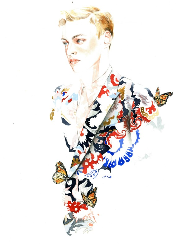 Fashion Illustrations by Antonio Soares: tumblr_n1ddccbTvP1qjq5r7o1_1280.jpg
