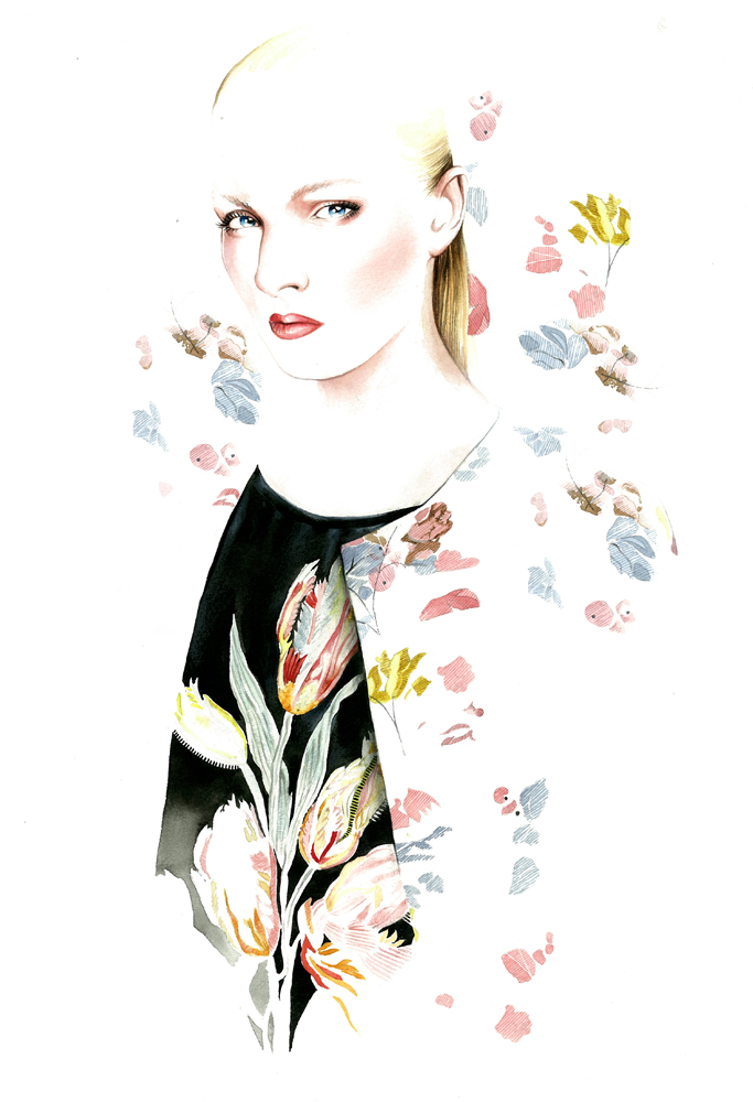 Fashion Illustrations by Antonio Soares: tumblr_n1mtlsN57P1qjq5r7o1_1280.jpg