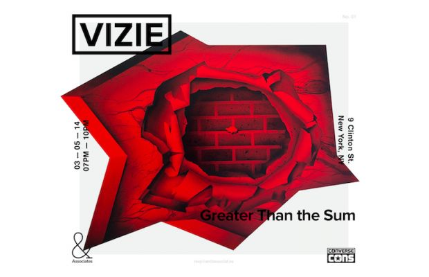 "VIZIE ""Greater than the Sum"" @ & Associates, NYC: vizie_invite.jpg"