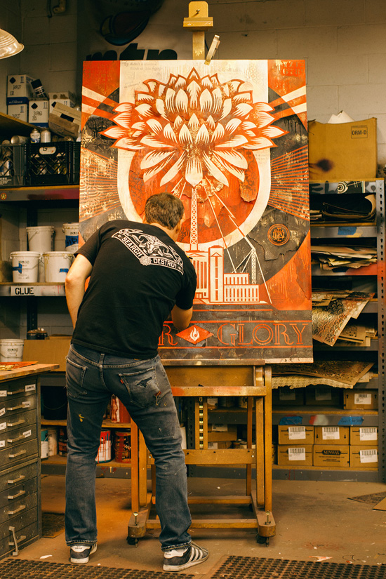 Tonight: Power & Glory: Shepard Fairey and Jasper Johns @ Halsey Institute: Juxtapoz-Shepard014.jpg
