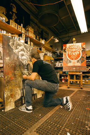 Tonight: Power & Glory: Shepard Fairey and Jasper Johns @ Halsey Institute: Juxtapoz-Shepard015.jpg