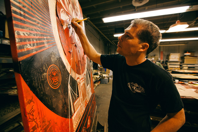 Tonight: Power & Glory: Shepard Fairey and Jasper Johns @ Halsey Institute: Juxtapoz-Shepard016.jpg