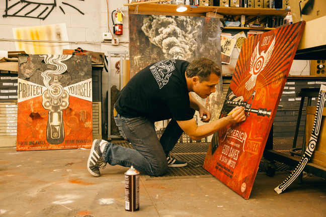 Tonight: Power & Glory: Shepard Fairey and Jasper Johns @ Halsey Institute: Juxtapoz-Shepard017.jpg
