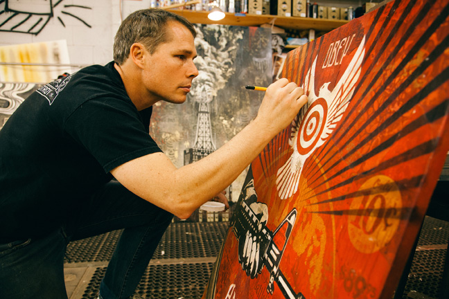 Tonight: Power & Glory: Shepard Fairey and Jasper Johns @ Halsey Institute: Juxtapoz-Shepard018.jpg