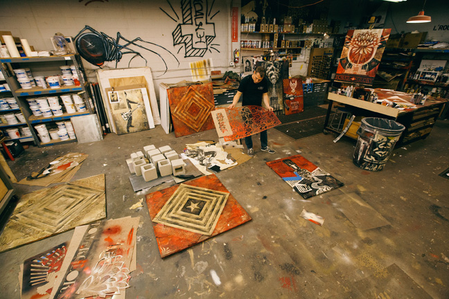 Tonight: Power & Glory: Shepard Fairey and Jasper Johns @ Halsey Institute: Juxtapoz-Shepard019.jpg