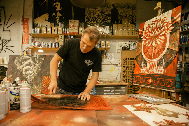 Tonight: Power & Glory: Shepard Fairey and Jasper Johns @ Halsey Institute: Juxtapoz-Shepard020.jpg