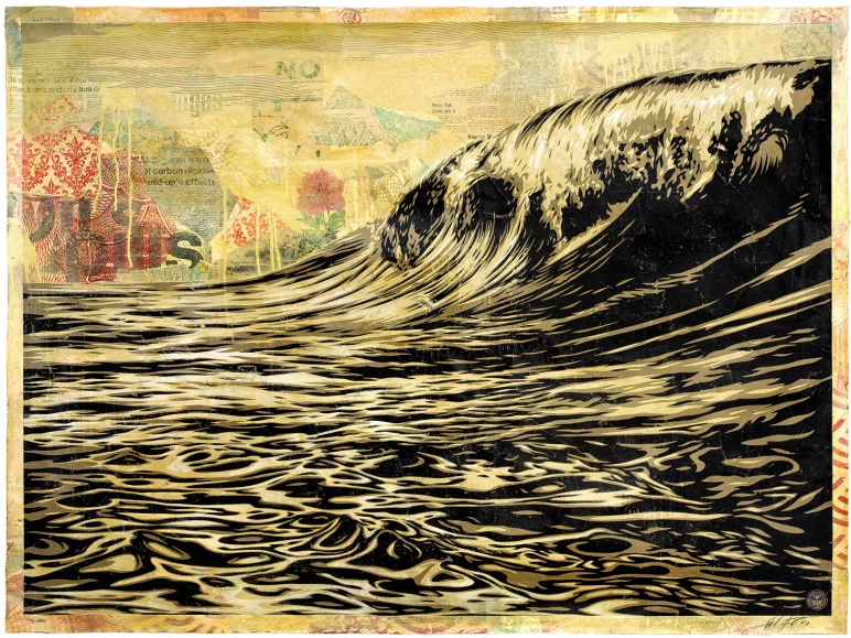 Tonight: Power & Glory: Shepard Fairey and Jasper Johns @ Halsey Institute: Juxtapoz-Shepard023.png