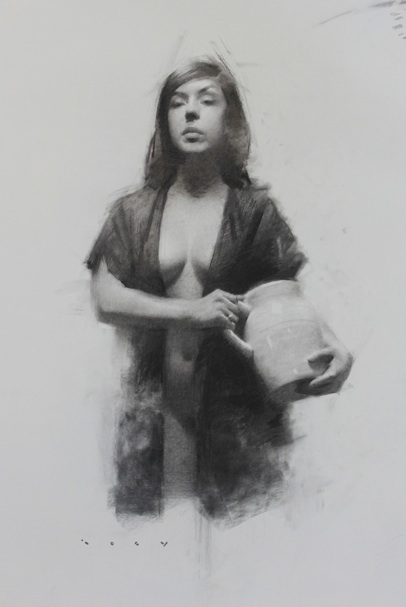 Charcoal Works from Joseph Todorovitch: finaldaniela.jpg