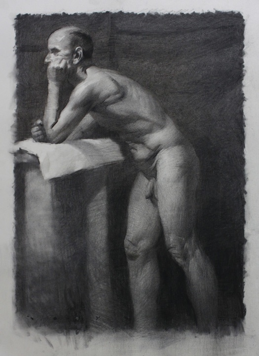 Charcoal Works from Joseph Todorovitch: male.jpg