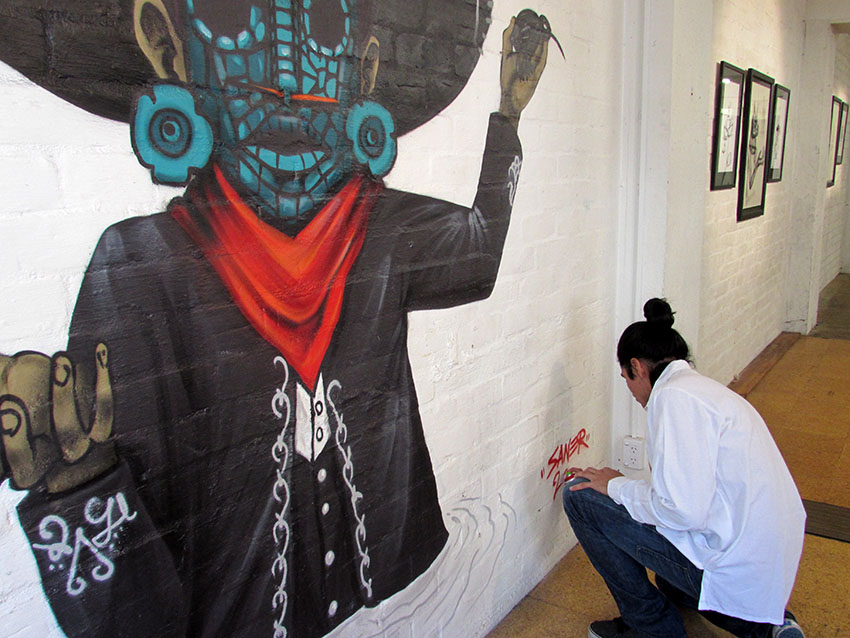 Saner @ Cross Street Gallery, Auckland, New Zealand: 2.jpg