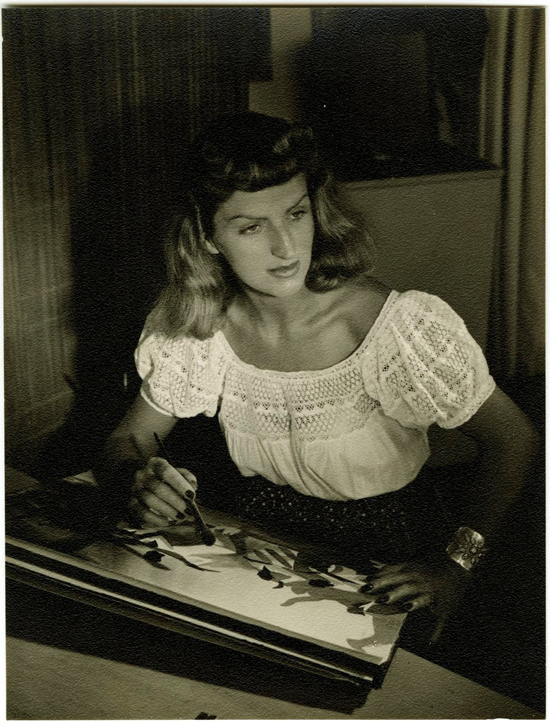 """MAGIC, COLOR, FLAIR: the world of Mary Blair"" @ Walt Disney Family Museum, SF: 10. WDFM_Blair Portrait.jpg"