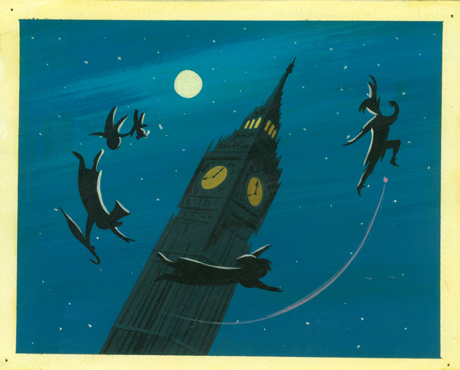 """MAGIC, COLOR, FLAIR: the world of Mary Blair"" @ Walt Disney Family Museum, SF: 4.WDFM_Blair_Peter Pan.jpg"