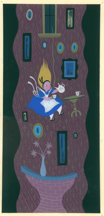 """MAGIC, COLOR, FLAIR: the world of Mary Blair"" @ Walt Disney Family Museum, SF: MaryBlair_exhibition_alice.jpg"
