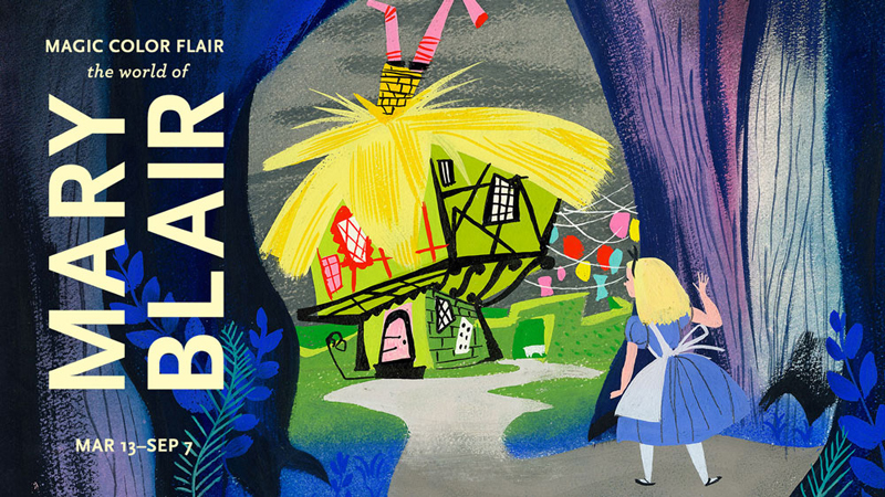 """MAGIC, COLOR, FLAIR: the world of Mary Blair"" @ Walt Disney Family Museum, SF: WDFM_MaryBlair_Hero_1000.jpg"
