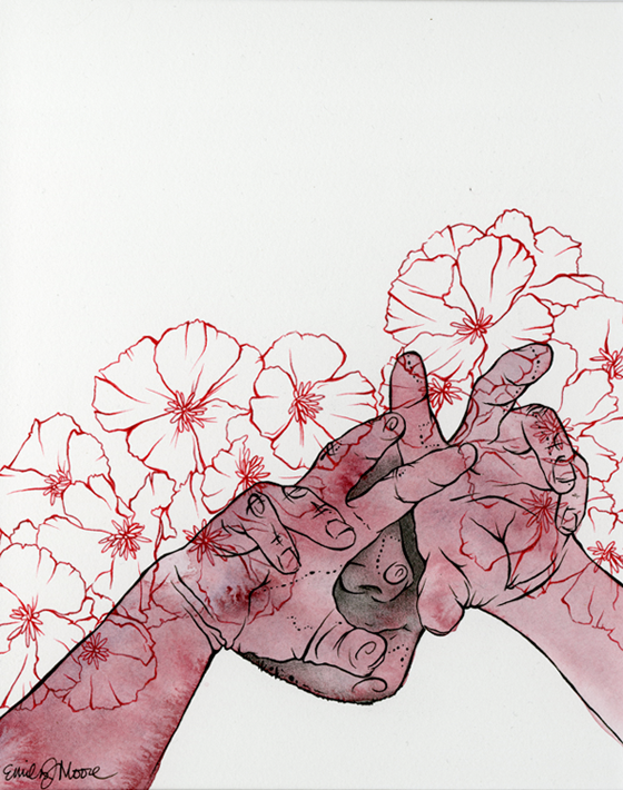 Works by Emily J Moore: website_beneaththeflowers.png