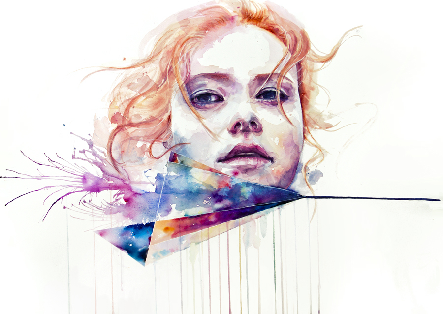 New Watercolors by Agnes Cecile: 5847648e47e3b889e86f3022a44f4fd1.jpg