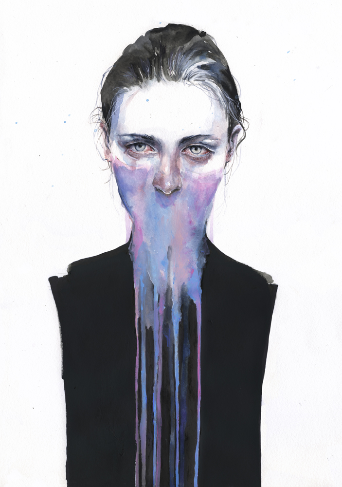 New Watercolors by Agnes Cecile: 97b696cdf56501a9fea1cba7fd0d7006.jpg