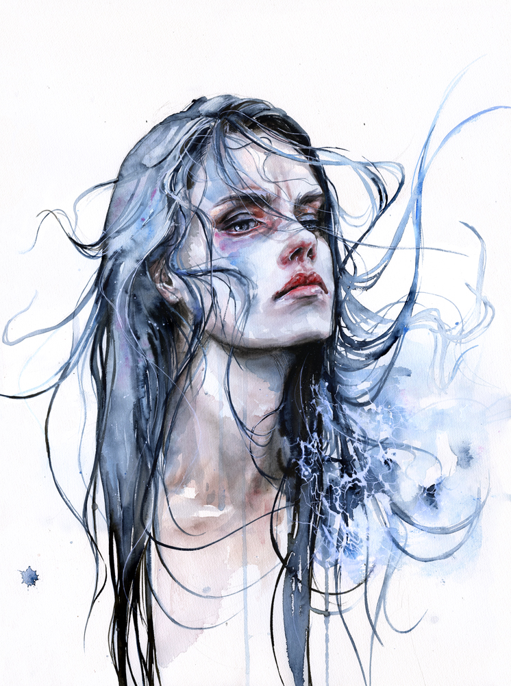 New Watercolors by Agnes Cecile: bfdb72f2a3c2aff4248697397acdce28.jpg