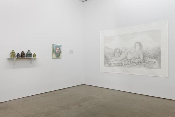 "REBECCA MORGAN ""No Church in the Wild"" @ Asya Geisberg Gallery, NYC: 4677_RM_Installation1.jpg"