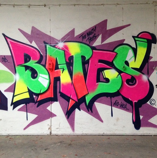 "Bates ""Still Going Strong 1984 -2104"" @ Le-Fix Gallery, Denmark: juxtapoz_bates3.png"