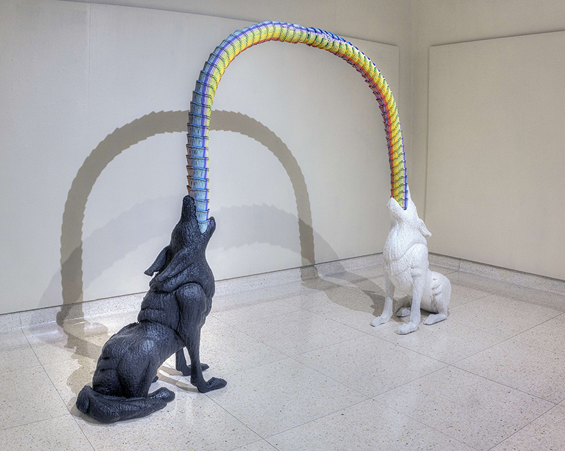 Have Crayons, Will Build: Herb Williams @ Oz, Nashville: herb-williams-crayon-sculptures-designboom-091.jpg