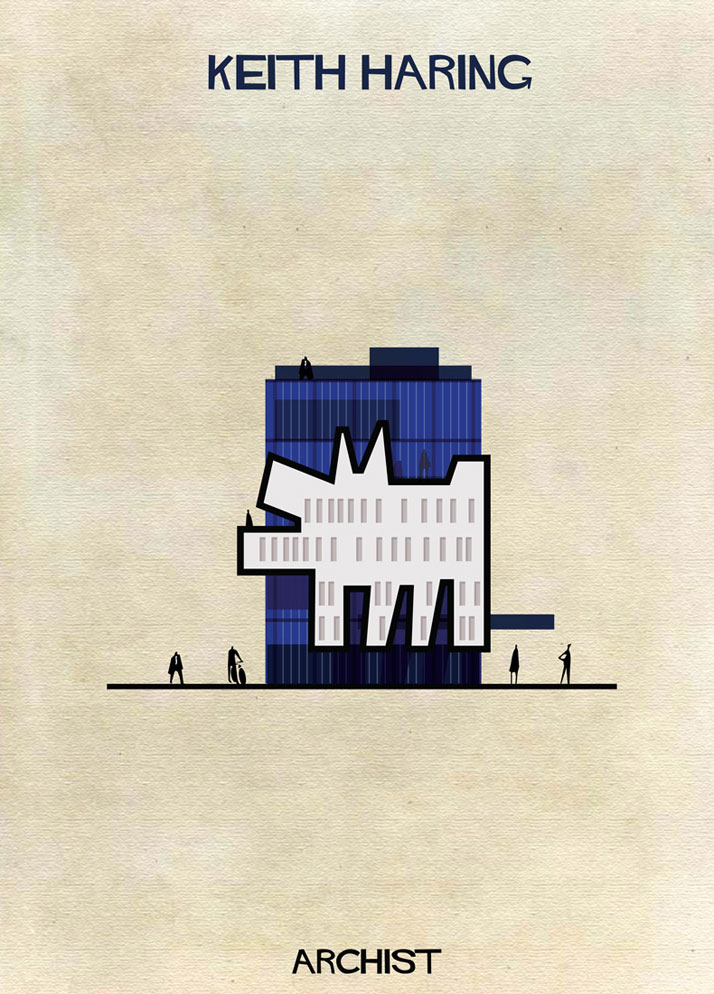 Buildings Inspired by Famous Works of Art: 10-Federico-Babina-Archist-Series-yatzer.jpg