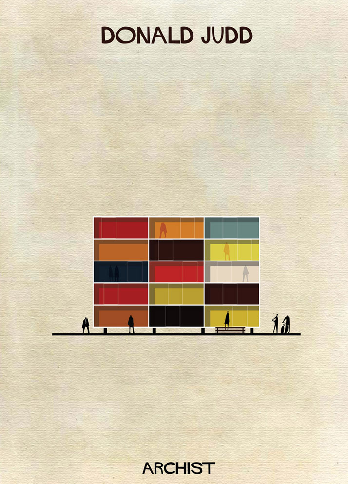 Buildings Inspired by Famous Works of Art: 11-Federico-Babina-Archist-Series-yatzer.jpg