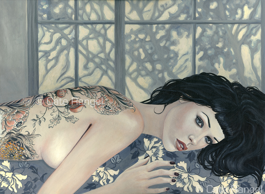Paintings by Cate Rangel: caterangel-daydream-ww.jpg
