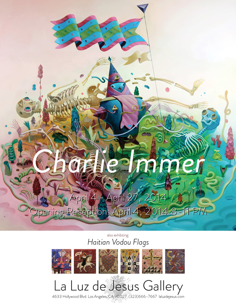 "Preview: Charlie Immer ""Loose Juice"" @ La Luz de Jesus, LA: April_2014.jpg"
