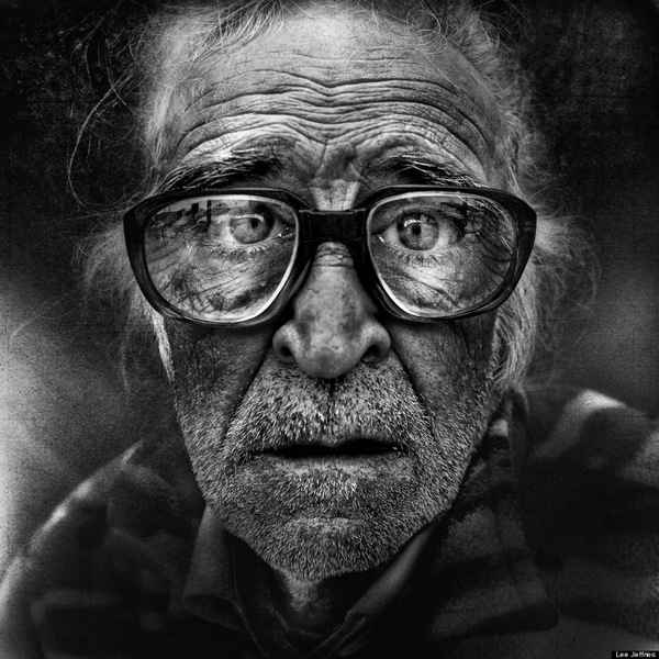 Striking portraits of homeless women and men by Lee Jeffries: juxtapoz_Lee_Jeffries10.jpg
