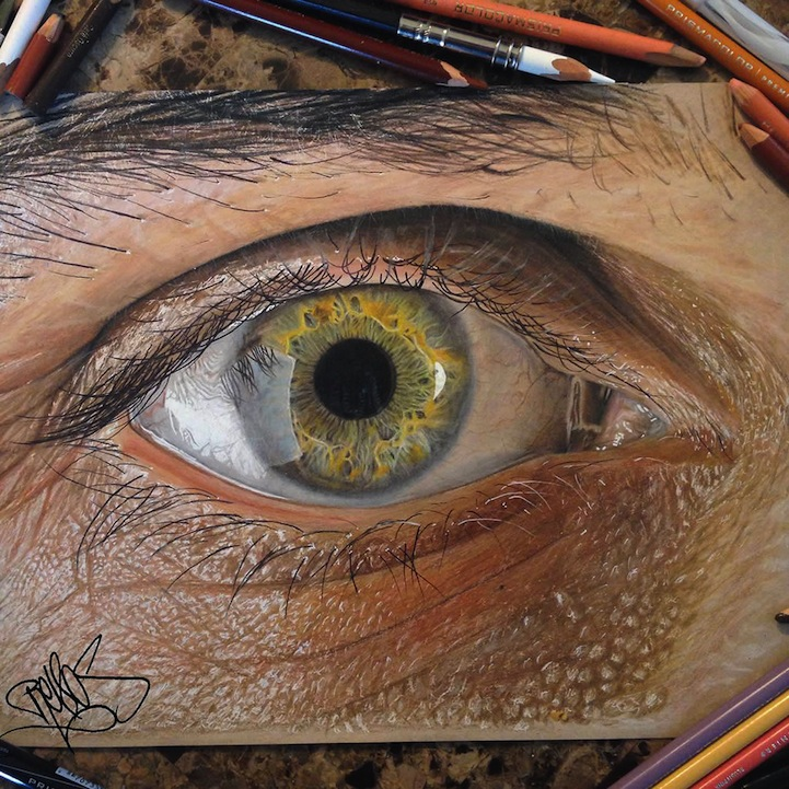 Hyperreal Pencil Drawings by Redosking: Redosking1.jpg