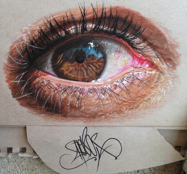 Hyperreal Pencil Drawings by Redosking: Redosking5.jpg