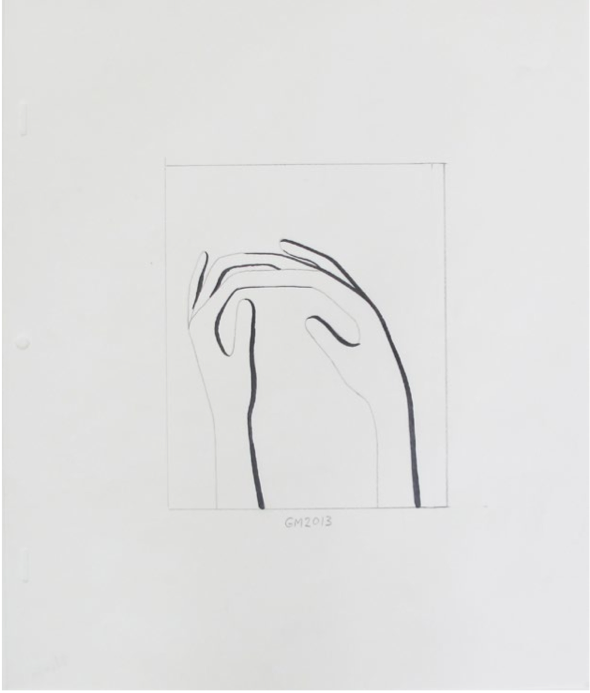 "Geoff McFetridge Drawings from ""MEDITALLUCINATION"" @ V1 Gallery, Copenhagen: Screen shot 2014-03-20 at 11.15.45 AM.png"