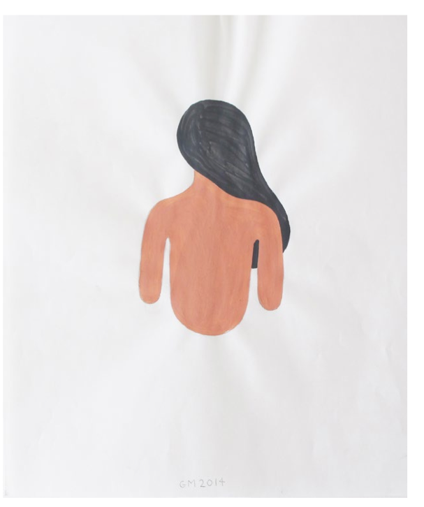 "Geoff McFetridge Drawings from ""MEDITALLUCINATION"" @ V1 Gallery, Copenhagen: Screen shot 2014-03-20 at 11.15.58 AM.png"