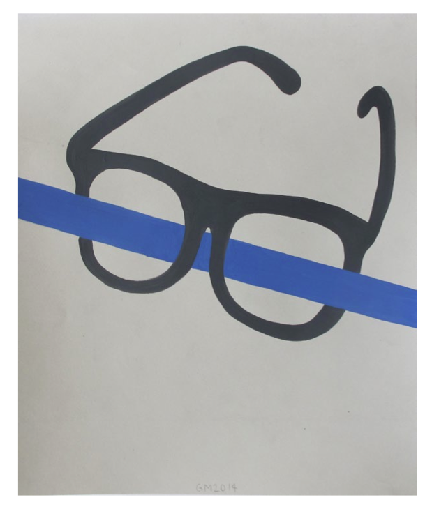 "Geoff McFetridge Drawings from ""MEDITALLUCINATION"" @ V1 Gallery, Copenhagen: Screen shot 2014-03-20 at 11.16.03 AM.png"