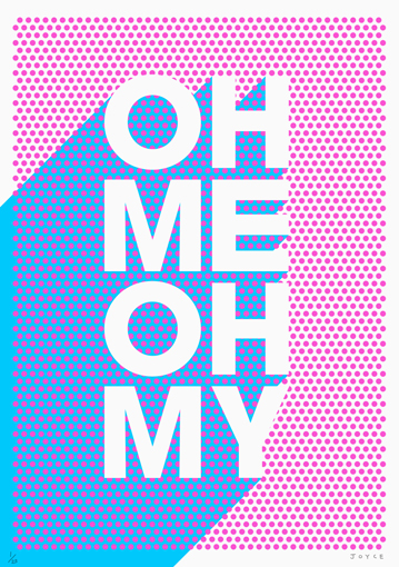 Type and Image from James Joyce: Ohmeohmy.jpg