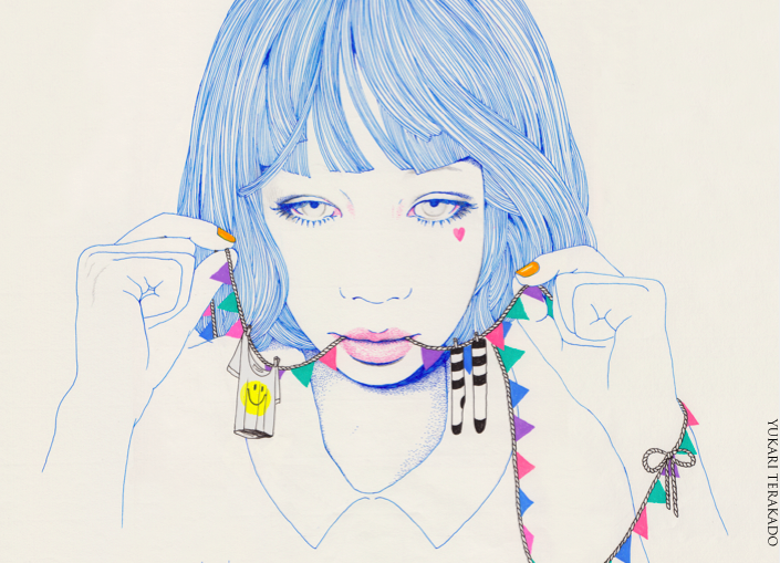 Pastel Illustrations from Yukari Terakado: mama2.png