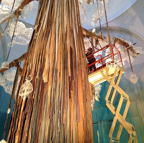 "Swoon ""Submerged Motherlands"" @ Brooklyn Museum: Screen shot 2014-04-01 at 1.36.16 PM.png"