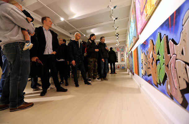 "Opening: Bates ""Still Going Strong 1984 -2104"" @ Le-Fix Gallery, Denmark: 01.-AP7Q1860.jpg"